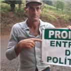 정치인,선거,브라질,팻말,농부,지역