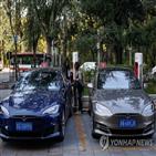 중국,테슬라,모델,전기차