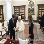 교황,마스크,총리,바티칸,스페인