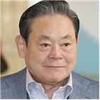 회장,삼성그룹,접견,설립,미국