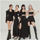 걸그룹,블랙핑크,차트,음반,미국