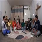 고아성,박혜수,촬영