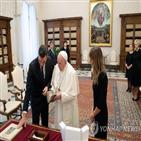 교황,마스크,바티칸,행사,모범,종종