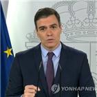 스페인,예산안,하원,코로나19