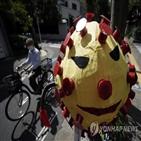 일본,감염자,확진,하루