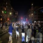 우승,다저스,축하,행사,시민,거리