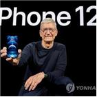 애플,아이폰,실적,판매,매출액,월가,성적