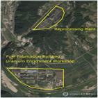 우라늄,생산,38노스,북한,단지