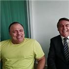코로나19,장관,판정,브라질,양성,회복
