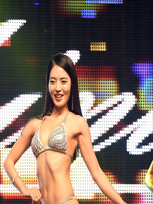 [포토]`머슬마니아 세계대회` 박성화, 예쁨주의보