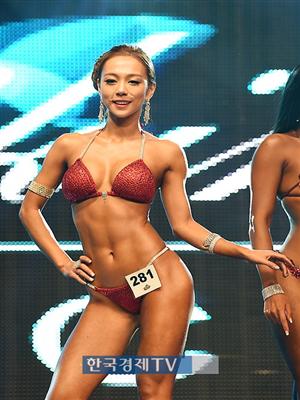 [포토]`머슬마니아 세계대회` 이효주, 섹시 끝판왕