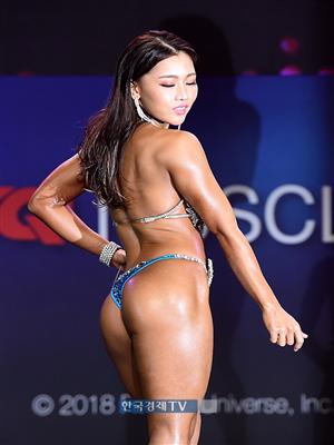 [포토]머슬마니아 비키니 미디움 5위 박민혜, 숨막히는 뒤태