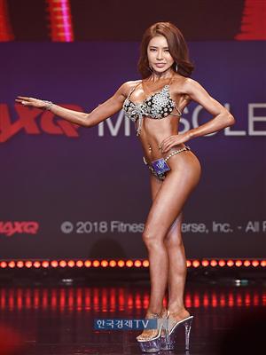 [포토]머슬마니아 비키니 쇼트 4위 최윤희, 완벽한 S라인