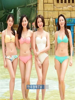 [포토]미스코리아 이윤지-박채원-서예진-김계령, 각선미 대결... 1234222