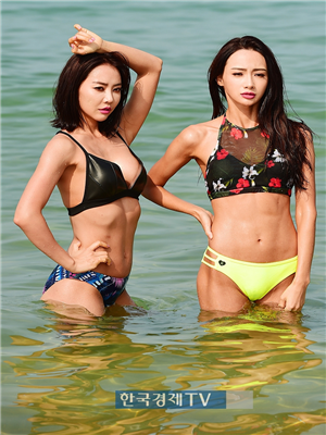 [포토]머슬마니아 홍다현-전혜빈 `여기 동남아 아니에요`