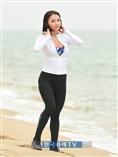 [포토]머슬마니아 홍다현, 양양 해변 뛰는 모습 `마이애미 아냐?!`