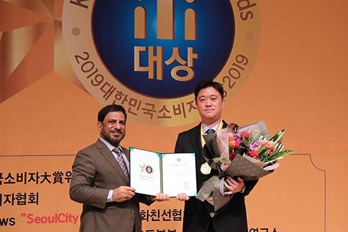 아이리움안과, 2019 대한민국소비자대상 의료서비스 부문 `올해의 최고브랜드` 3년 연속 수상