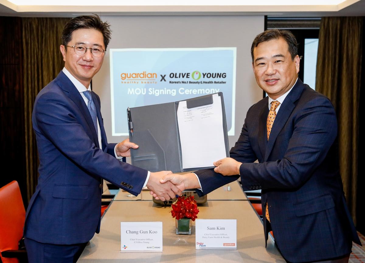 올리브영, 동남아 최대 유통 기업 데어리팜과 MOU