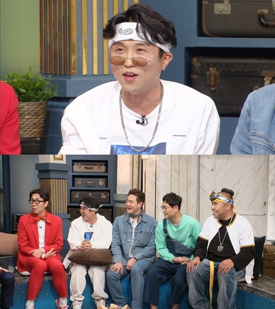 """`해투4` 박성광, 송이 매니저 근황 공개 """"건강 안 좋았지만 회복"""""""