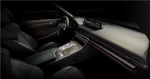 제네시스 첫 SUV `GV80` 공개…국산차 최대 22인치휠