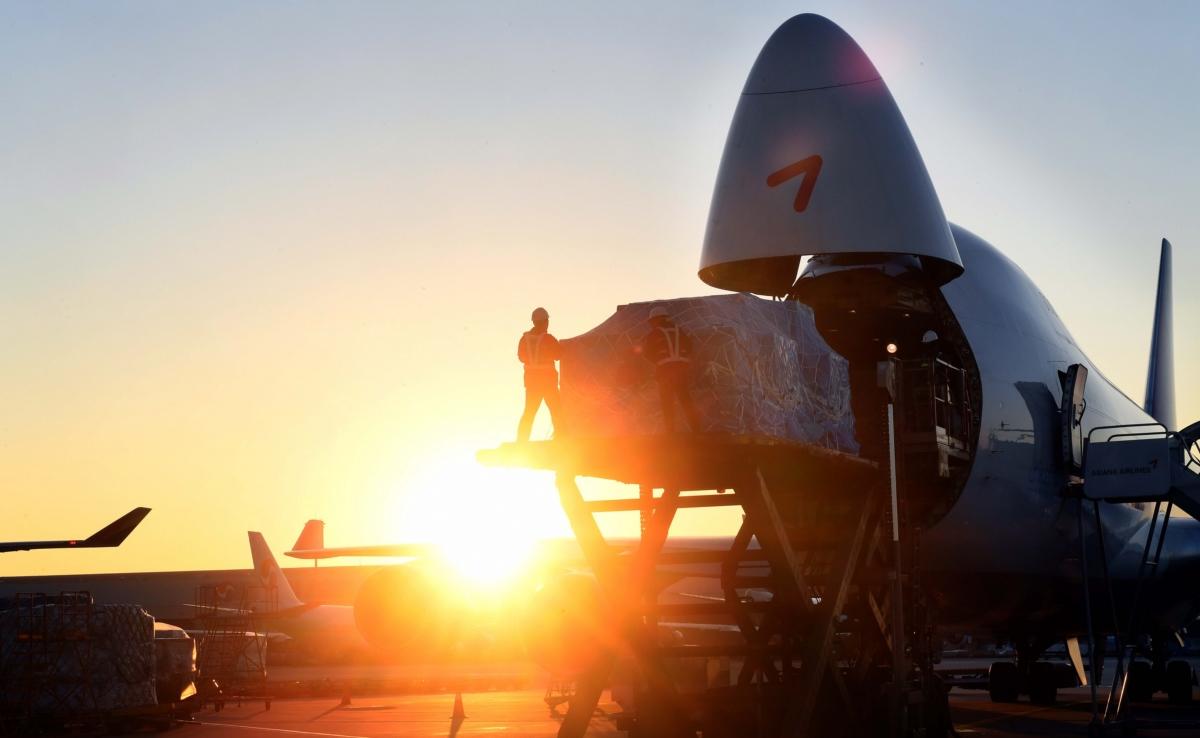 아시아나항공, 반도체 수출 화물 싣고 새해 첫 비행