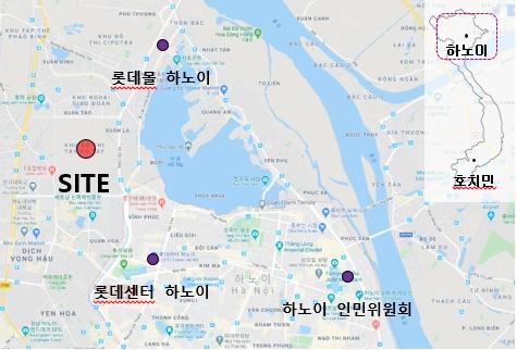 SND 스타레이크 프로젝트 위치도. 사진제공=롯데건설.