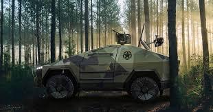원격 기관총 탑재한 군용 전기차 사이버트럭