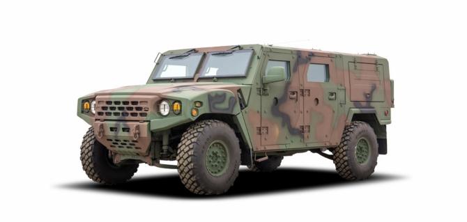 한국군 신형 소형전술차 KM-1