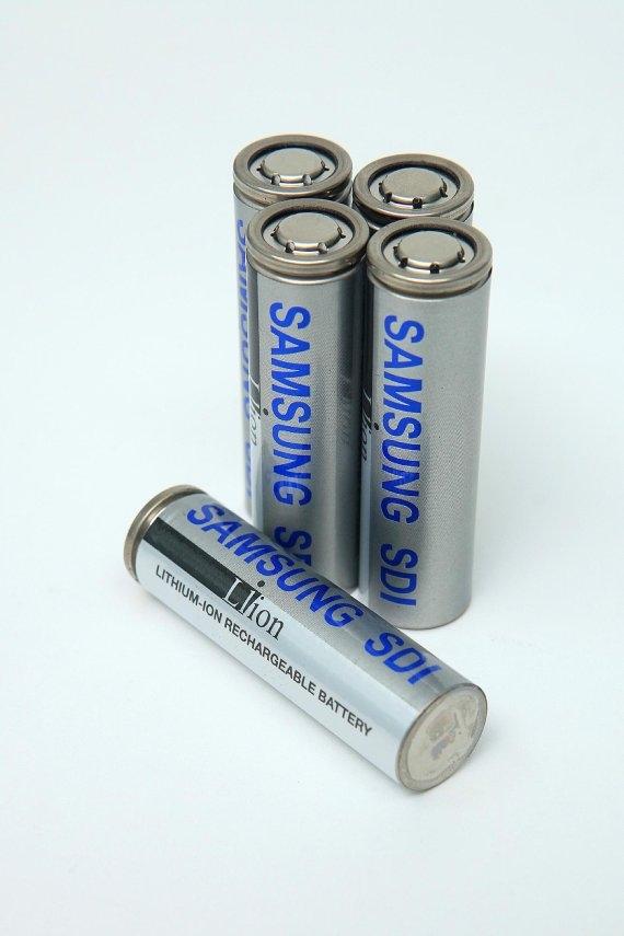 삼성SDI의 전기차 원통형 배터리