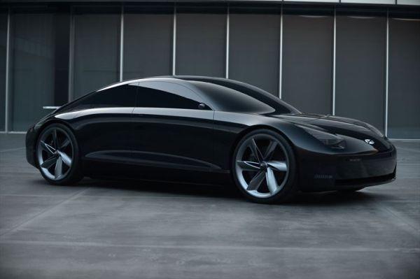 현대 스포츠형 순수 EV 컨셉트카 프로페시