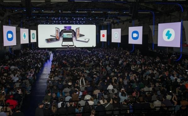올해 2월 11일 미국 샌프란시스코에서 진행된 '갤럭시 언팩 2020'