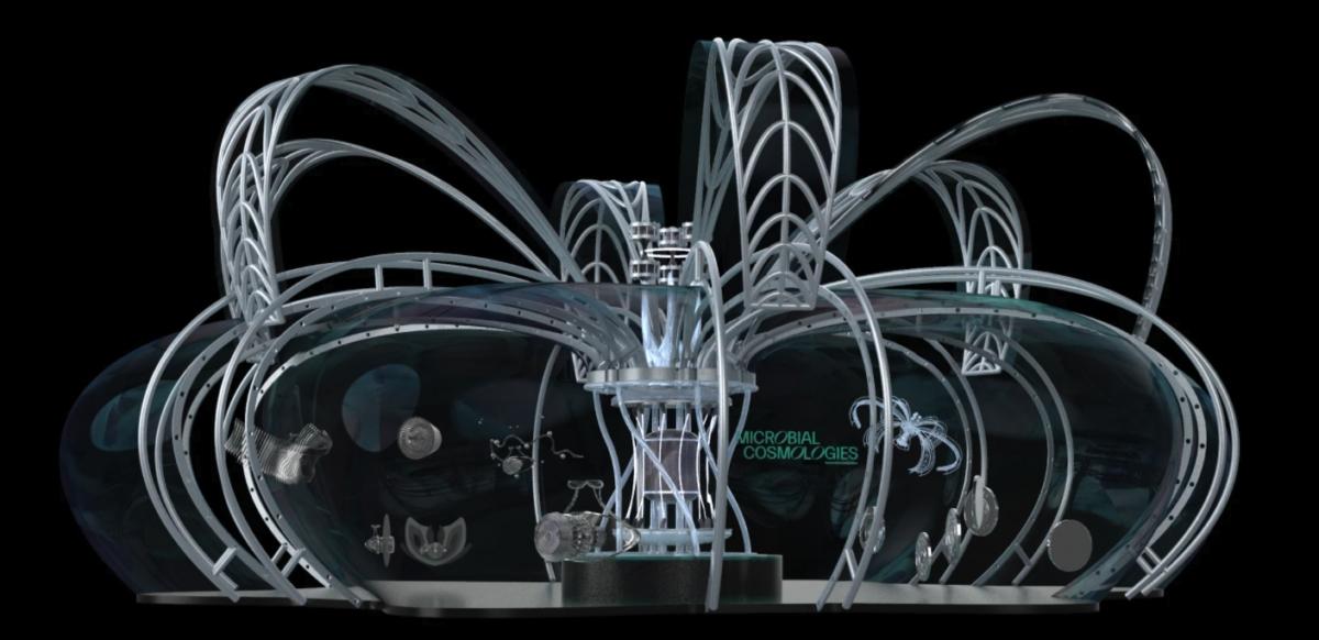 현대차그룹-RISD 미래 모빌리티 디자인 공동연구 `그래픽 디자인 연구팀`이 제안한 `인간과 자연이 공존하는 미래 모빌리티 허브` 디자인 프로젝트