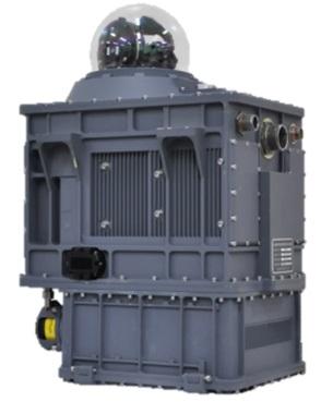 국방과학연구소 주관으로 한화시스템이 개발한 `지향성적외선방해장비 (DIRCM)` 제품 형상 이미지