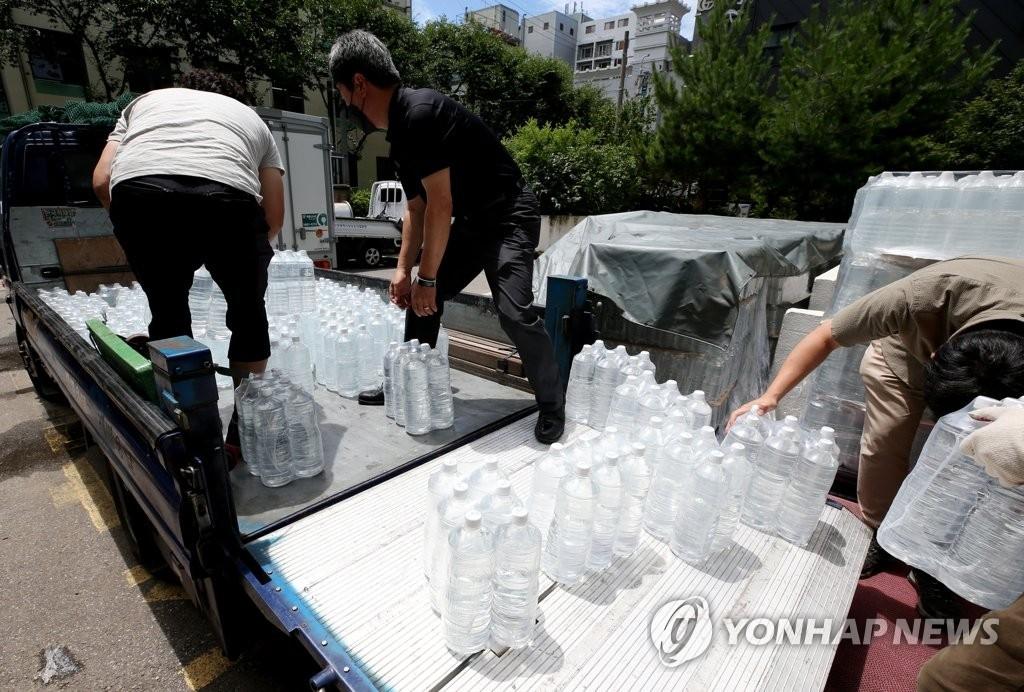 인천 수돗물 유충 사태 (사진=연합뉴스)