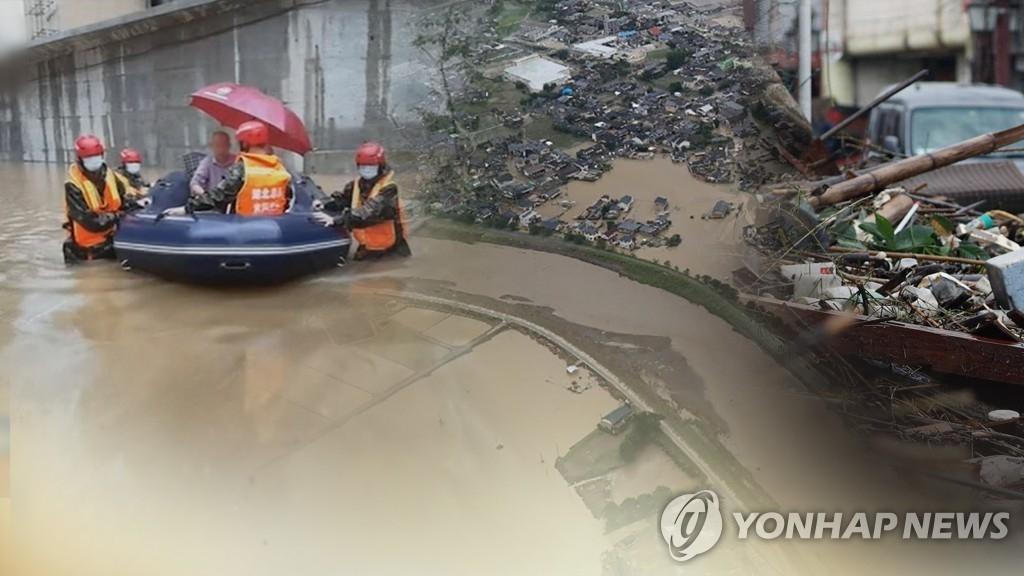 시진핑, 폭우 피해 위로 감사 (사진=연합뉴스)