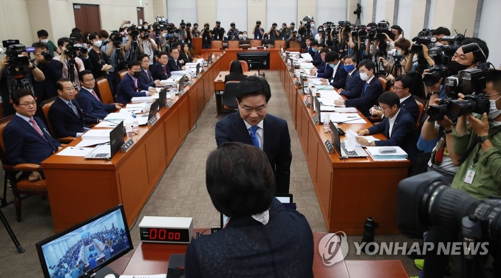 김창룡 경찰청장 후보자 인사청문회 (사진=연합뉴스)