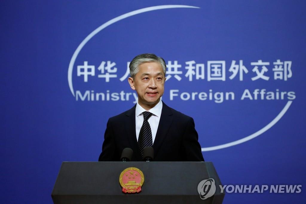 왕원빈 중국 외교부 대변인 (사진=연합뉴스)