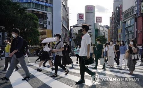일본 코로나19 발생 현황 (사진=연합뉴스)