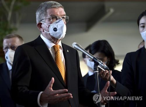 Bach IOC 위원장 도쿄 올림픽 7 월 예정된 계획 B 없음