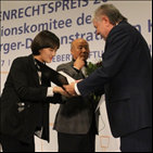 참석,민주주의,에버트재단,인권상,에버트,베를린,독일