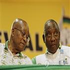 주마,라마포사,부패,대통령,대표,남아공,신임,정권,체제,신임대표