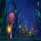 딘딘,반딧불이,마을,애니메이션