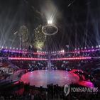 대회,평창,금메달,선수단,올림픽,폐막식,선수,여자,동계올림픽,입장