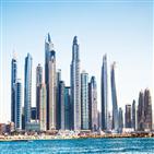 두바이,세계,사막,도시,시작,지역,건물,중동,전통,분수