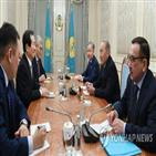 대통령,카자흐스탄,나자르바예프,포기,핵무기,의장