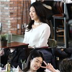 민지,미모,촬영,배우