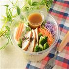 샐러드,일본,상품,외식,드레싱,야채,로손