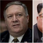 폼페이,대통령,트럼프,북한,직접,북미정상회담,김정은,대화,최고위급