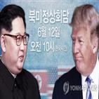 회담,대통령,트럼프,북한,북미정상회담,지난달,위원장,발표,비핵화,미국