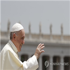 마크롱,대통령,교황,가톨릭,프란치스코